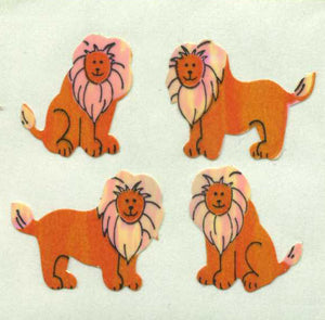 Pack of Pearlie Stickers - Lions