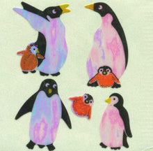 Load image into Gallery viewer, Pack of Pearlie Stickers - Penguins