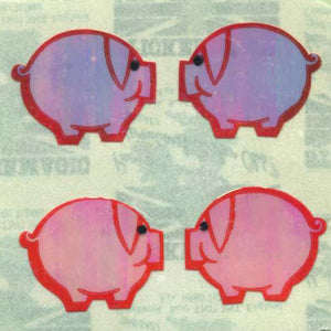 Pack of Pearlie Stickers - Pink Pigs
