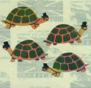 Pack of Pearlie Stickers - Tortoises