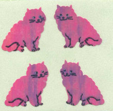 Load image into Gallery viewer, Pack of Pearlie Stickers - Pink Cats