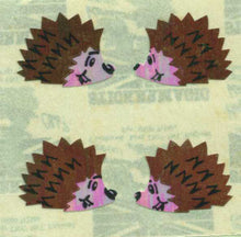 Load image into Gallery viewer, Pack of Pearlie Stickers - Hedgehogs