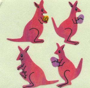 Pack of Pearlie Stickers - Kangaroos
