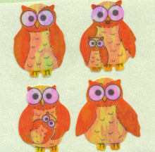 Load image into Gallery viewer, Pack of Pearlie Stickers - Mother & Baby Owl