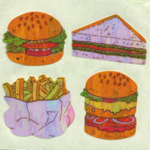 Load image into Gallery viewer, Pack of Pearlie Stickers - Fast Food
