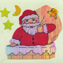 Load image into Gallery viewer, Pack of Pearlie Stickers - Santa