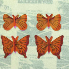 Load image into Gallery viewer, Pack of Pearlie Stickers - Yellow Butterflies