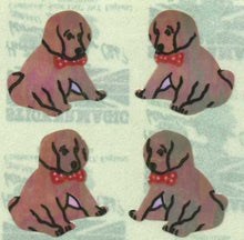 Load image into Gallery viewer, Pack of Pearlie Stickers - Puppies Sitting
