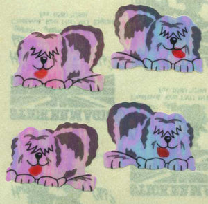 Pack of Pearlie Stickers - Sheepdogs