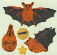 Load image into Gallery viewer, Pack of Pearlie Stickers - Bats
