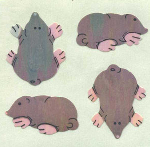 Pack of Pearlie Stickers - Moles