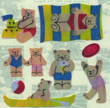 Load image into Gallery viewer, Pack of Pearlie Stickers - Micro Seaside Teds