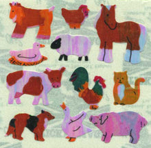 Load image into Gallery viewer, Pack of Pearlie Stickers - Micro Farmyard Friends