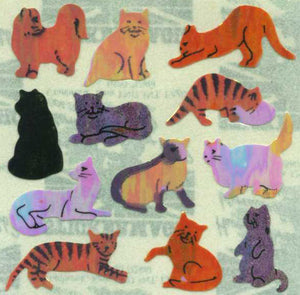 Pack of Pearlie Stickers - Micro Cats