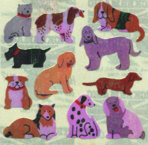 Pack of Pearlie Stickers - Micro Dogs
