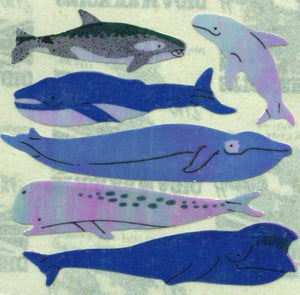 Pack of Pearlie Stickers - Micro Whales