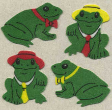 Load image into Gallery viewer, Pack of Furrie Stickers - Frogs & Hat