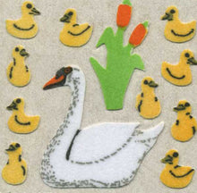 Load image into Gallery viewer, Pack of Furrie Stickers - Swans & Cygnets