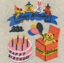 Load image into Gallery viewer, Pack of Furrie Stickers - Birthday Cake