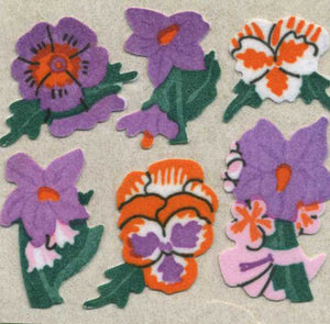 Pack of Furrie Stickers - Pansies