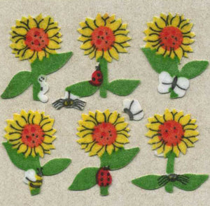 Pack of Furrie Stickers - Sunflowers