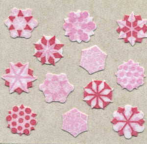 Pack of Furrie Stickers - Snowflakes