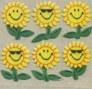 Pack of Furrie Stickers - Smiley Sunflower