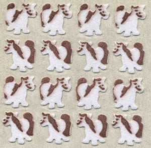 Pack of Furrie Stickers - Micro Ponies