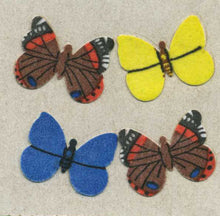 Load image into Gallery viewer, Pack of Furrie Stickers - Multi Coloured Butterflies