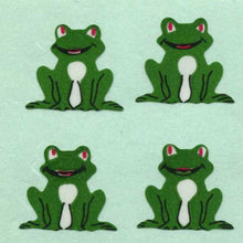 Load image into Gallery viewer, Pack of Paper Stickers - Frogs Sitting