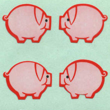 Load image into Gallery viewer, Pack of Paper Stickers - Pink Pigs