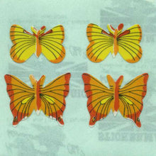 Load image into Gallery viewer, Pack of Paper Stickers - Yellow Butterflies