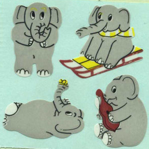 Pack of Paper Stickers - Elephants