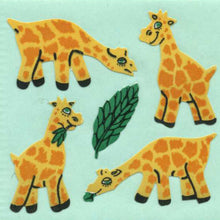 Load image into Gallery viewer, Pack of Paper Stickers - Giraffes