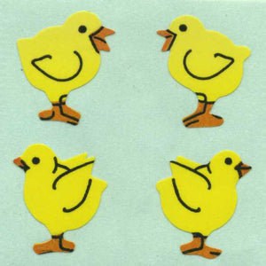 Pack of Paper Stickers - Chicks