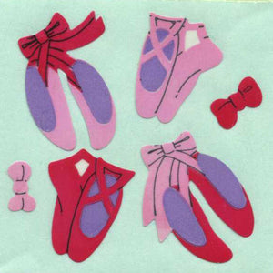 Pack of Paper Stickers - Ballet Shoes