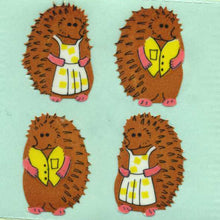 Load image into Gallery viewer, Pack of Paper Stickers - Mr & Mrs Hedgehog