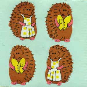 Pack of Paper Stickers - Mr & Mrs Hedgehog