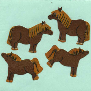Pack of Paper Stickers - Ponies