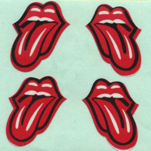Pack of Paper Stickers - Lips