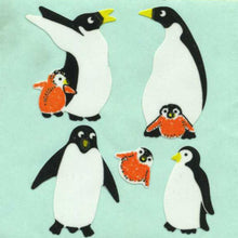 Load image into Gallery viewer, Pack of Paper Stickers - Penguin Family