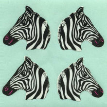 Load image into Gallery viewer, Pack of Paper Stickers - Zebras