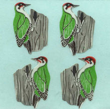 Load image into Gallery viewer, Pack of Paper Stickers - Woodpeckers