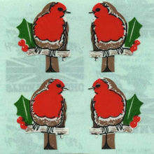 Load image into Gallery viewer, Pack of Paper Stickers - Robins