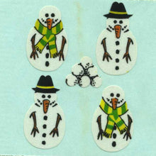 Load image into Gallery viewer, Pack of Paper Stickers - Snowmen