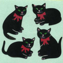 Load image into Gallery viewer, Pack of Paper Stickers - Black Cats