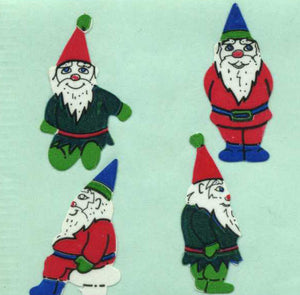Pack of Paper Stickers - Gnomes