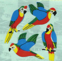Load image into Gallery viewer, Pack of Paper Stickers - Parrots