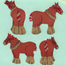 Load image into Gallery viewer, Pack of Paper Stickers - Shire Horses