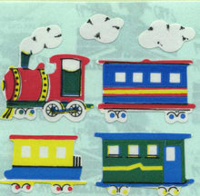 Load image into Gallery viewer, Pack of Paper Stickers - Steam Trains
